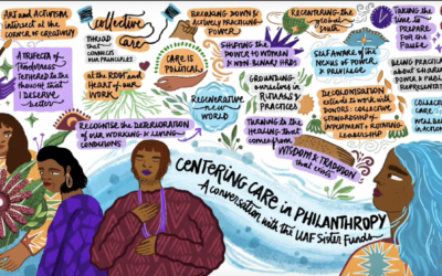Deepening our collective care practices: reflections from the donor community